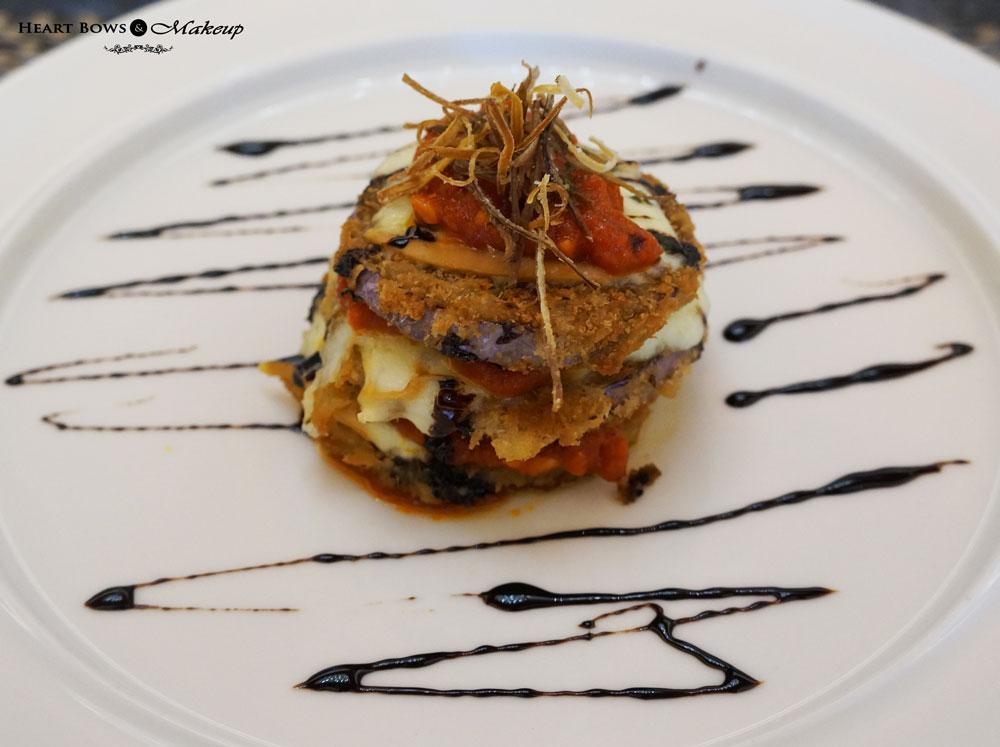 Ssence Restaurant Review: Aubergine Parmigiana