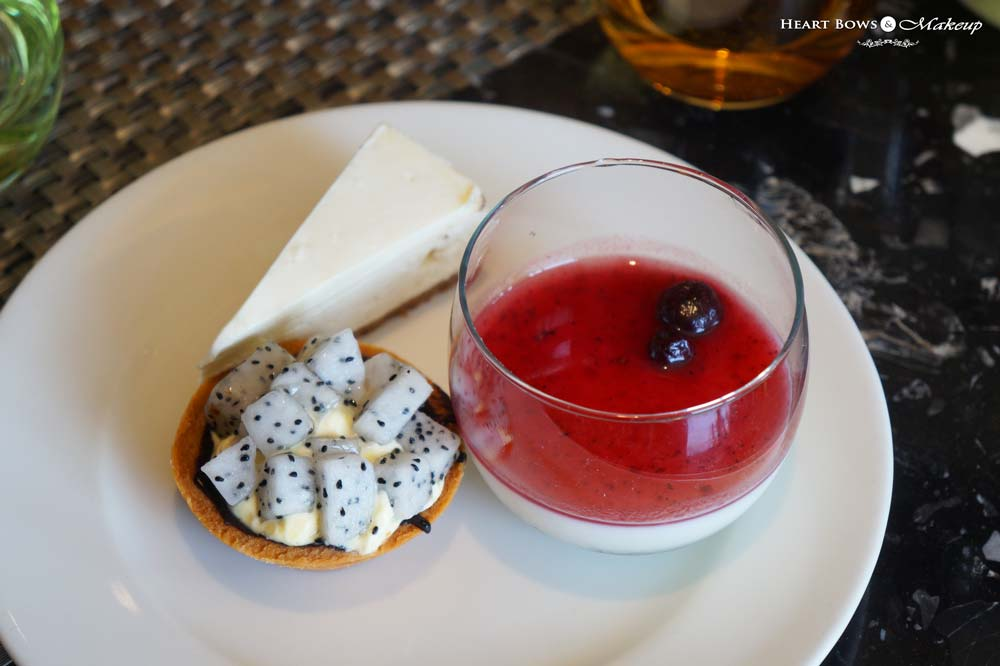 Desserts at Ssence Restaurant, The Suryaa