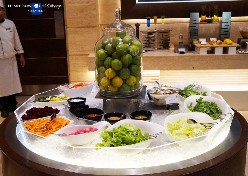 Salad Bar at Ssence, The Suryaa Hotel, NFC