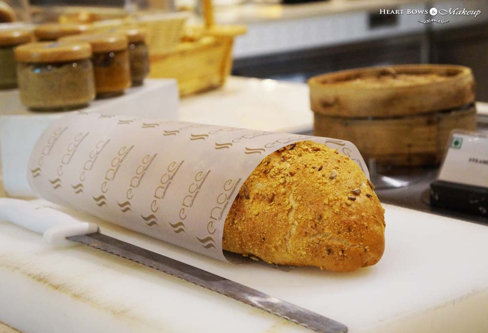Breads Section at Ssence Restaurant