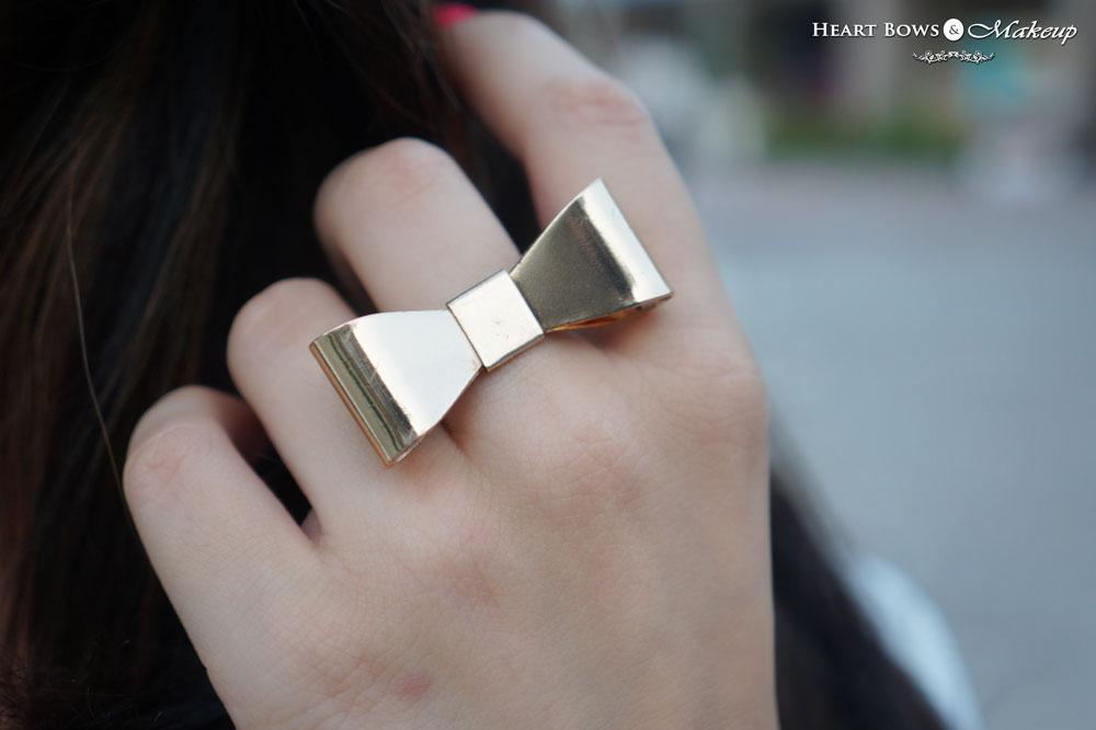 Zotiqq Bow Ring