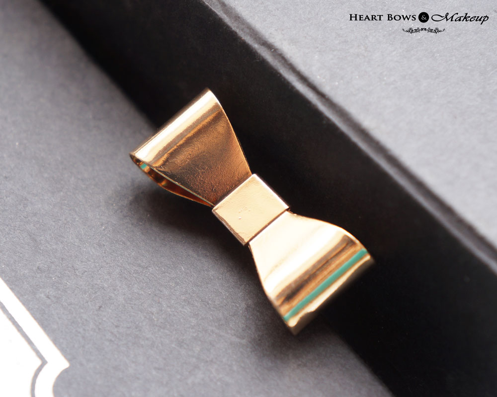 ZOTIQQ Fashionista September Jewellery Box Review: Gold Bow Ring