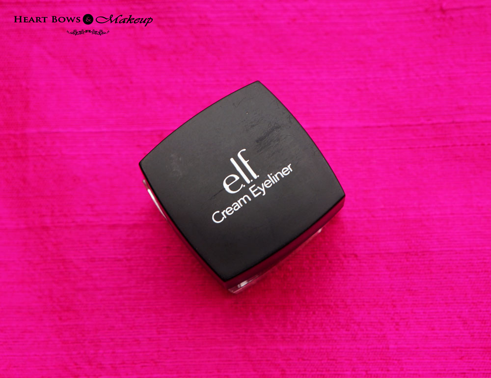 elf Cream Eyeliner Review & Swatches