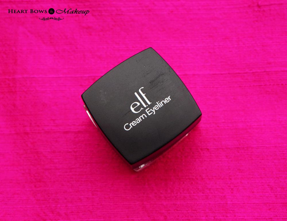 elf Cream Eyeliner Review & Swatches