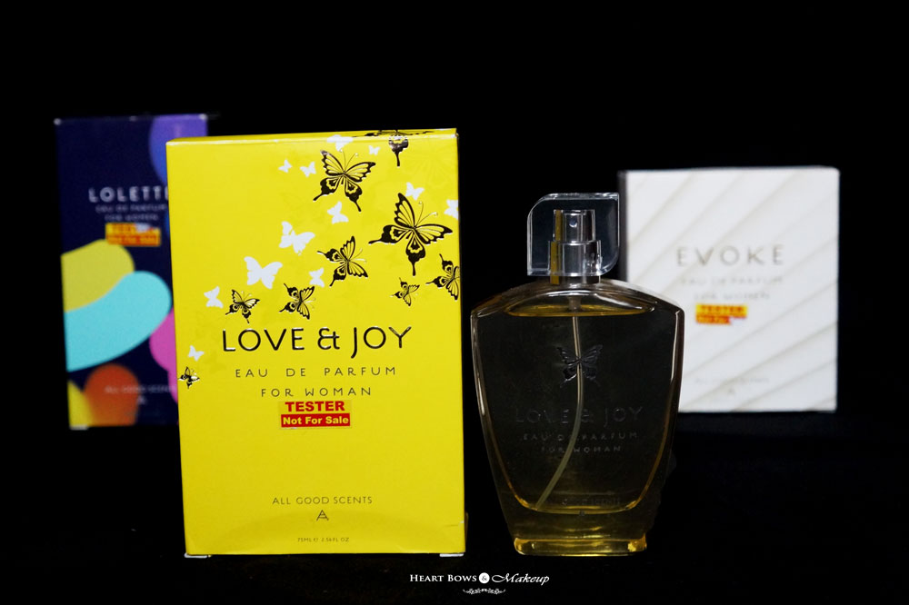 All Good Scents Love & Joy Perfume Review & Price