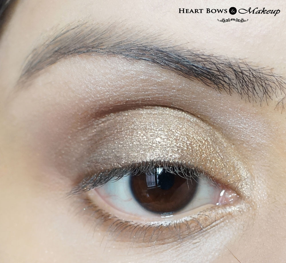 Gold Smoky Eye Makeup Tutorial