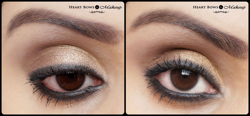 Gold Smokey Eye Makeup Step & Step Tutorial: Indian Beauty Blog