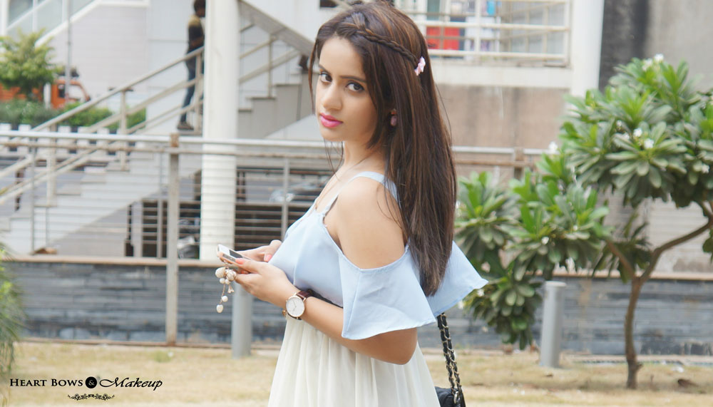 Indian Beauty Blog: Casual Everyday Makeup with a Side Braid