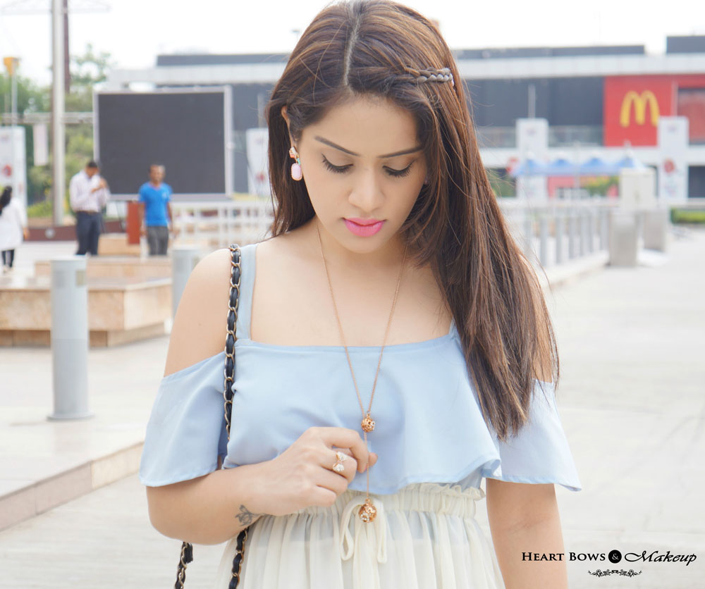 Indian Fashion & Makeup Blog: How to accessorize a casual maxi dress
