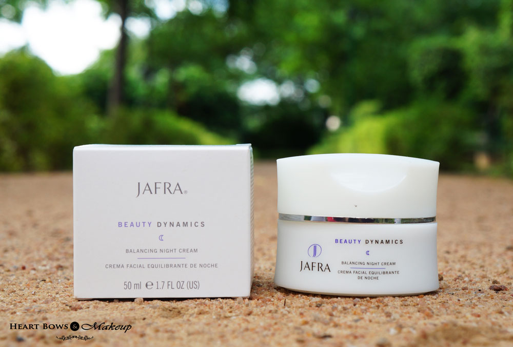 Jafra Beauty Dynamic Balancing Night Cream Review, Price & Buy Online India