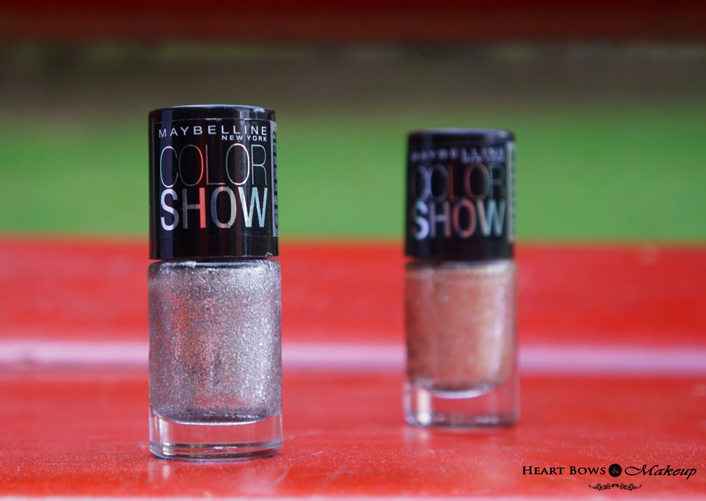 Maybelline Glitter Mania Nail Polish 601 Dazzling Diva Review & Swatches