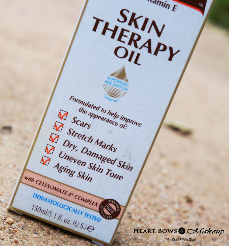 Palmer's Cocoa Butter Formula Skin Therapy Oil Review & Price India