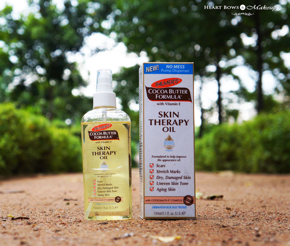 Palmer's Cocoa Butter Formula Skin Therapy Oil Review, Price & Buy Online in India