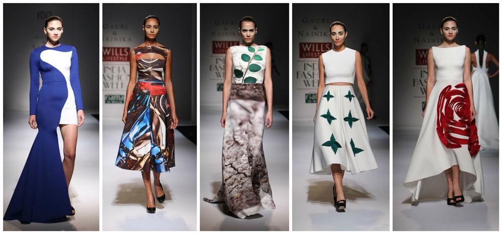Gauri & Nainika  WIFW SS 2015 Collection