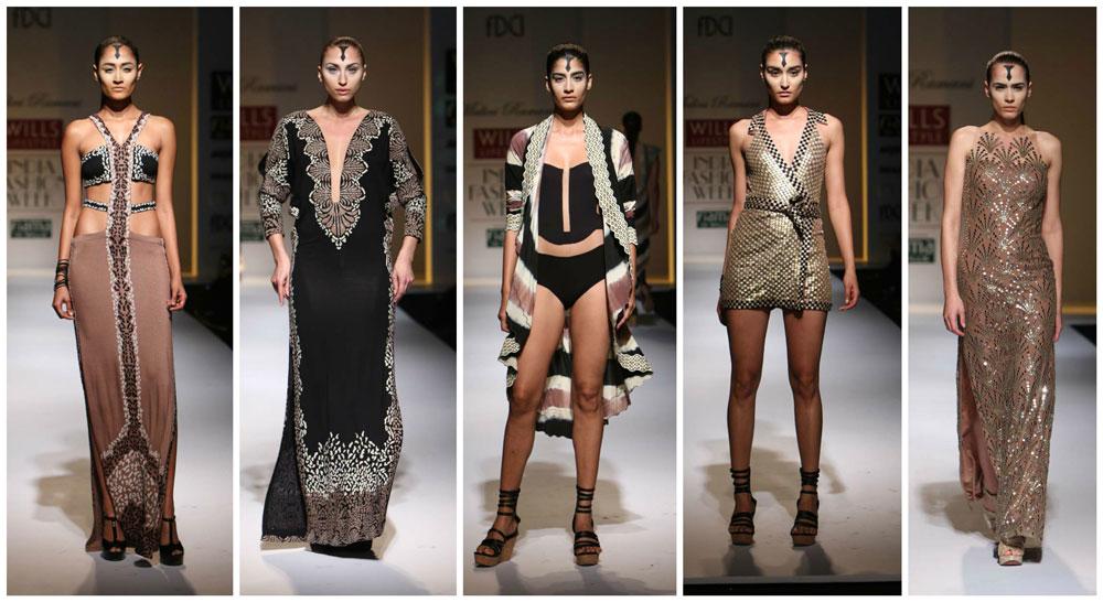 Malini Ramani WIFW SS 2015 Collection