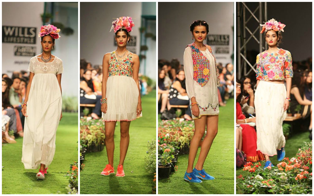 Peru By Aneeth Arora WIFW SS 2015 Collection