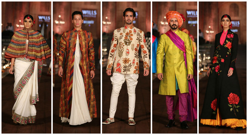 Rohit Bal Gulabgh WIFW SS 2015 Collection