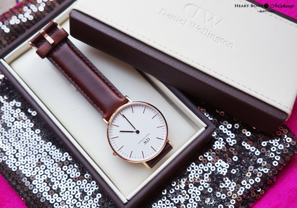 HBM First Anniversary Giveaway: Win a Daniel Wellington Watch Of Your Choice!