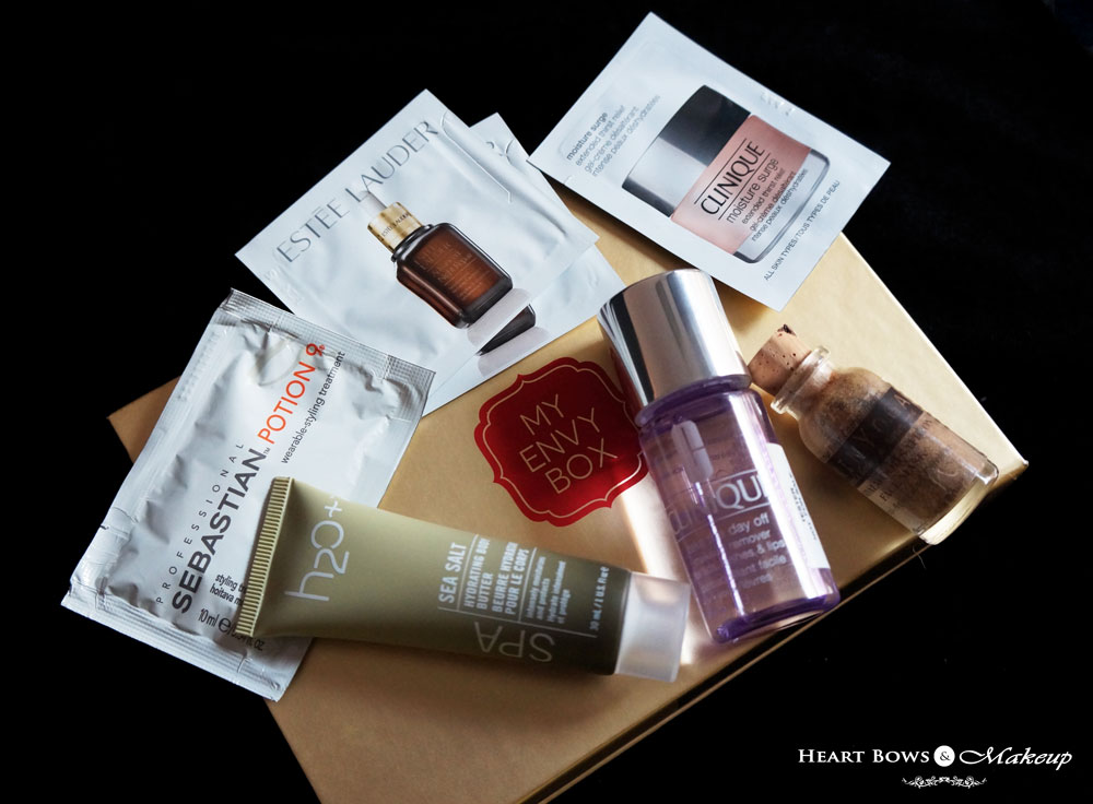 My Envy Box October Review, Products, Samples & Buy Online India