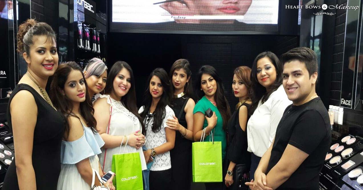 Colorbar Bloggers Meet At Khan Market, Delhi & Darkened Summer Collection
