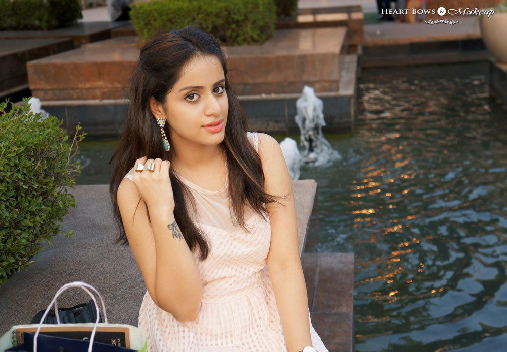Indian Makeup & Beauty Blog: Outfit Of The Day feat Zotiqq & Addons Accessories