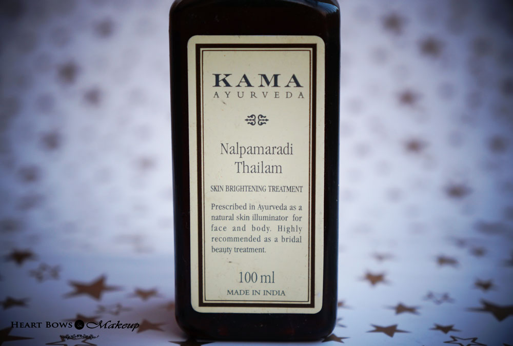 Kama Ayurveda Nalpamaradi Thailam Review - Affordable Kumkumadi Oil Option