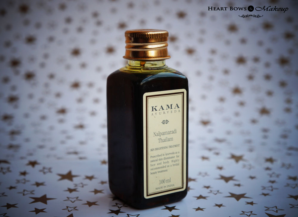Kama Ayurveda Nalpamaradi Oil Review & Price