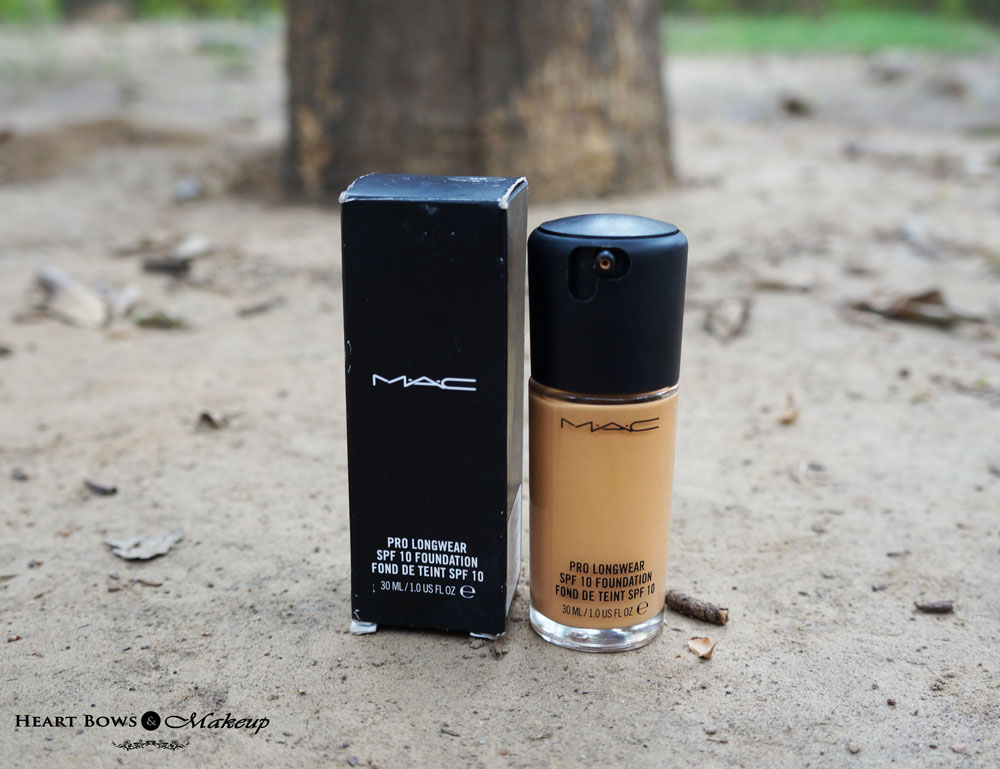 MAC Pro Longwear Foundation NC 30 Review & Swatches ...
