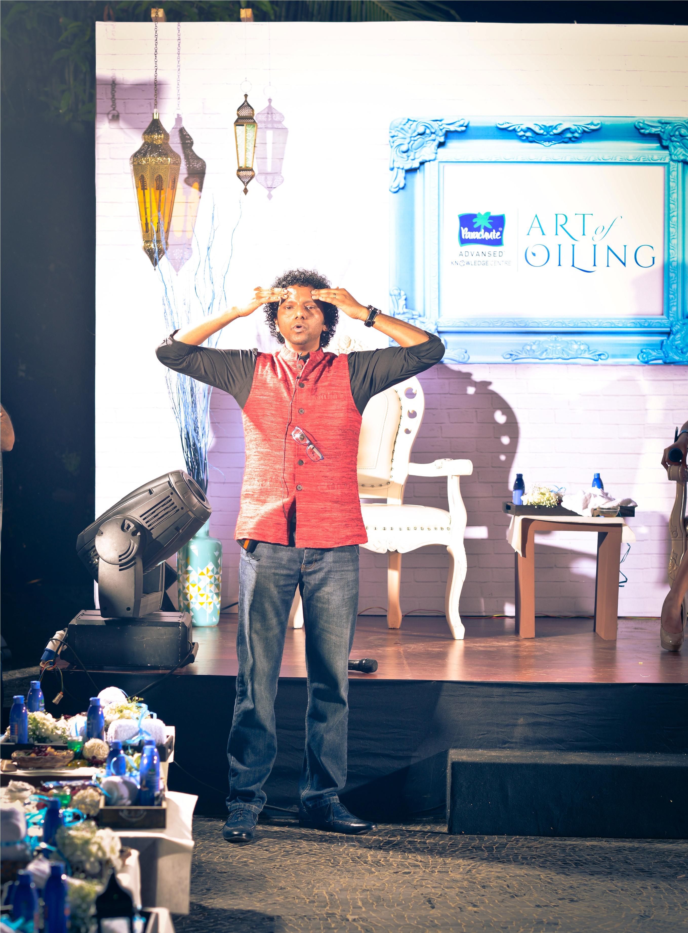 Moses Chundi, Parachute's Art Of Oiling Brand Ambassador