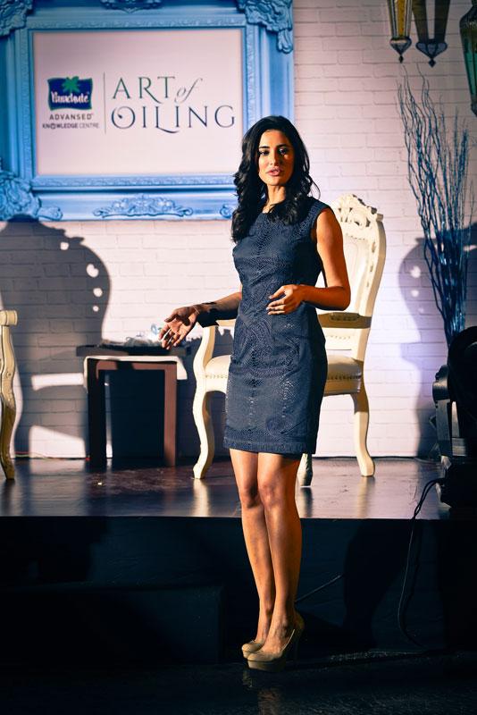 Nargis Fakhri, Parachute's Art Of Oiling Brand Ambassador