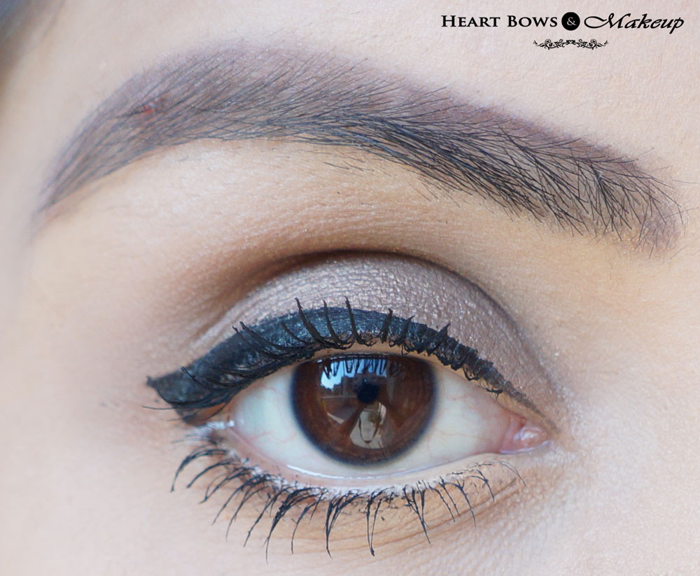 Oriflame The ONE Eyeliner Stylo Black & Blue Swatches EOTD & Review