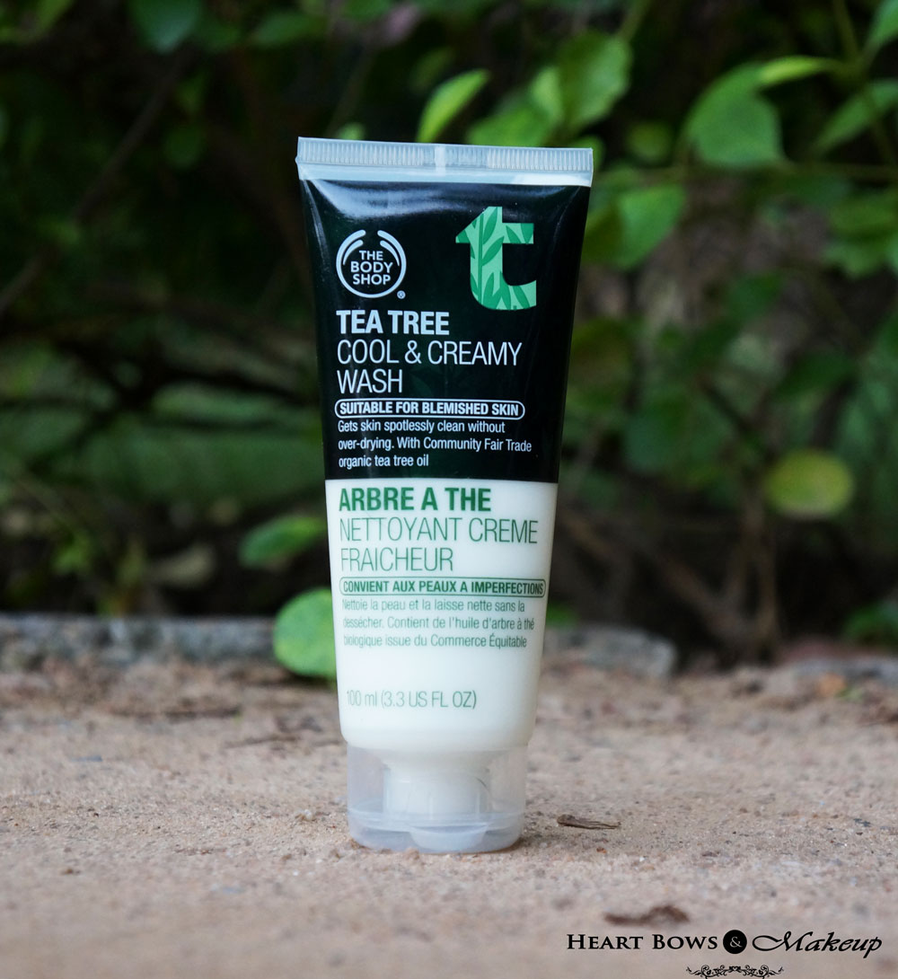 TBS Tea Tree Cool & Creamy Face Wash Review, Price & Buy Online in India