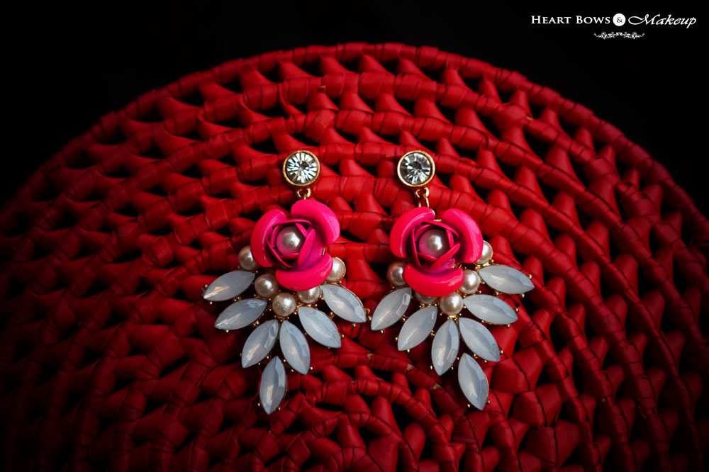 Beautiful Statement Earrings: ZOTIQQ November Fashionista Jewellery Box Review