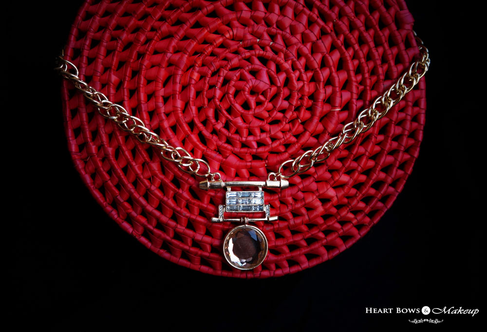 Beautiful Statement Necklace India: ZOTIQQ November Jewellery Box Review