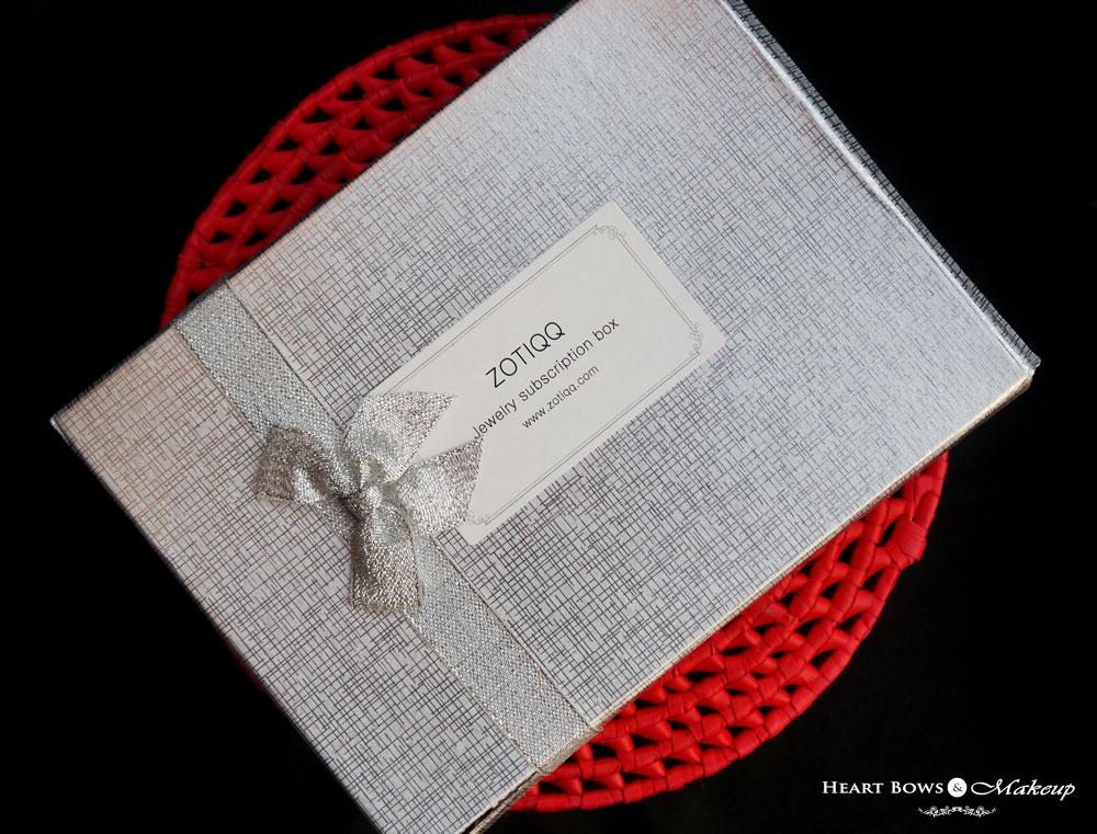 ZOTIQQ November Fashionista Jewellery Box Review, Products & Price