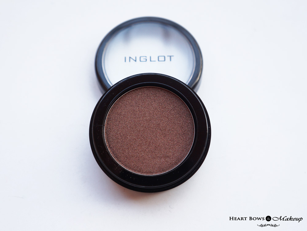 Inglot Pearl Eyeshadow 422 Review: The best brown eyeshadow in India