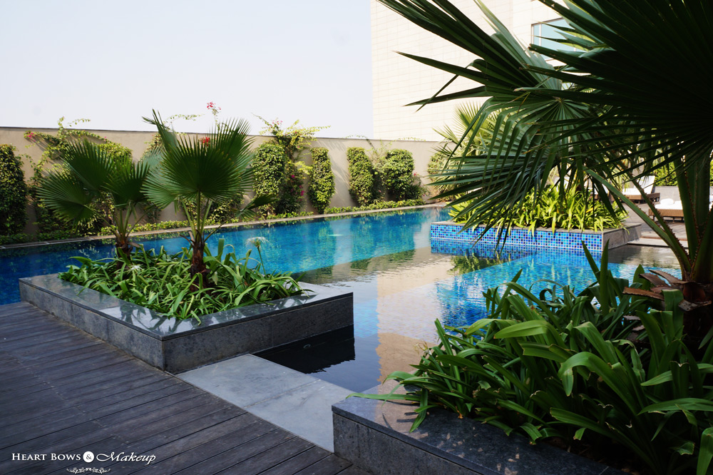 JW Marriott Pool, Delhi