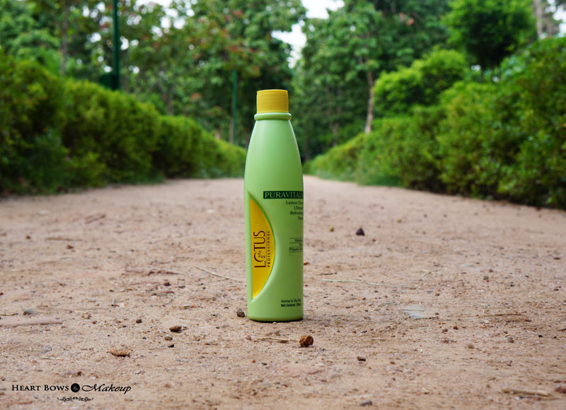 Lotus Professional Puravital Lemongrass Refreshing Toner Review, Price & Buy Online India