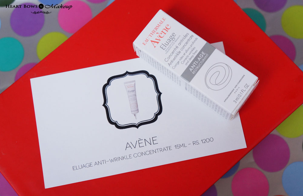 My Envy Box December: Avene Anti Wrinkle Concentrate