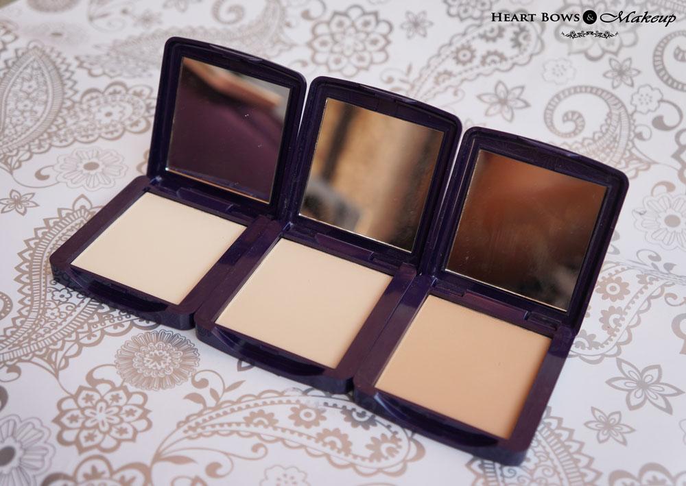 Oriflame The ONE Illuskin Powder Compact Review- Light, Medium & Dark