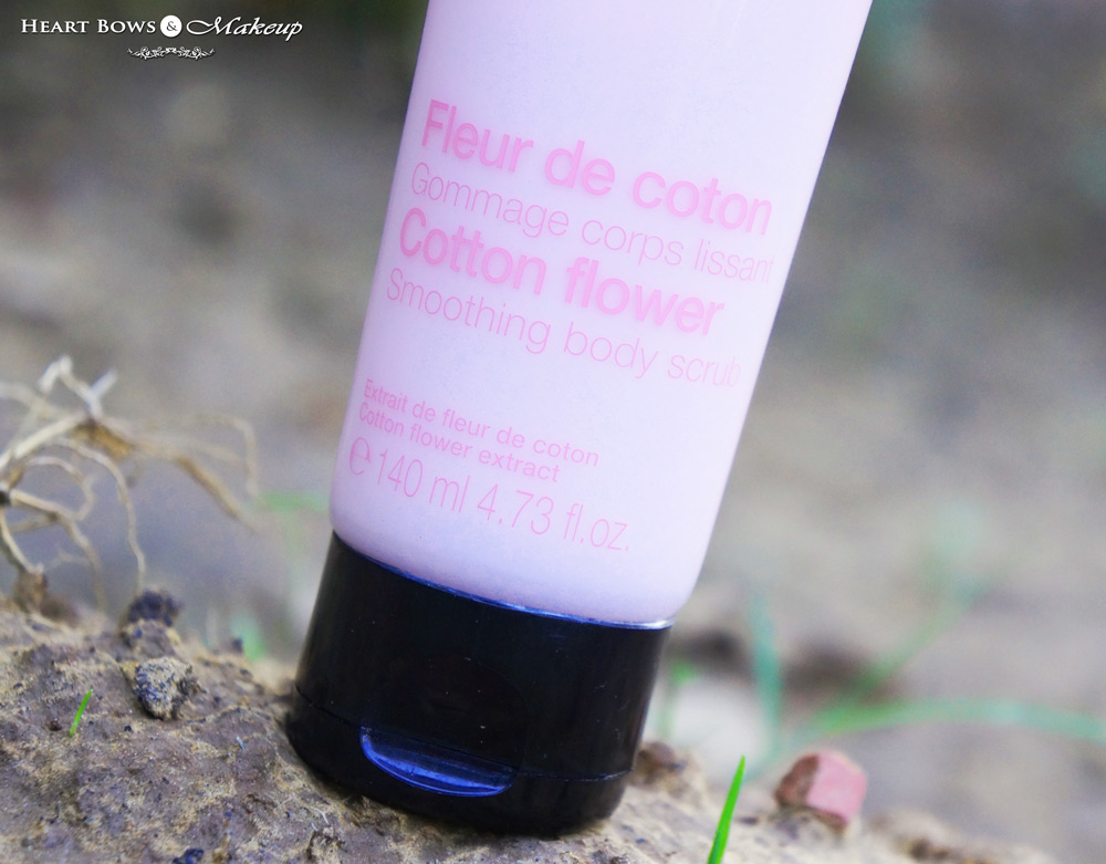 Sephora Cotton Flower Smoothing Body Scrub Review & Price India
