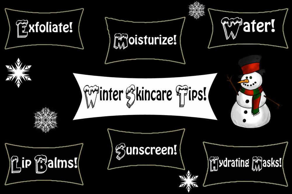 Winter Skincare Tips For Dry Face, Skin, Lips, Hands & Feet