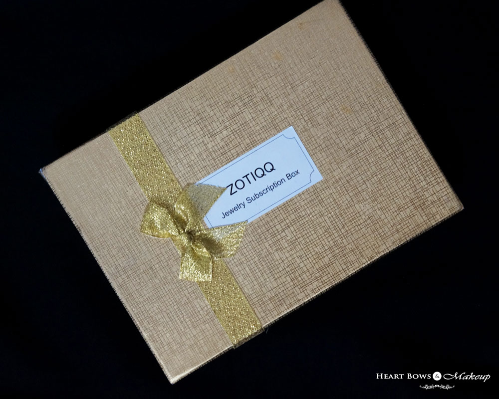 Zotiqq December Jewellery Box Review, Products & Price