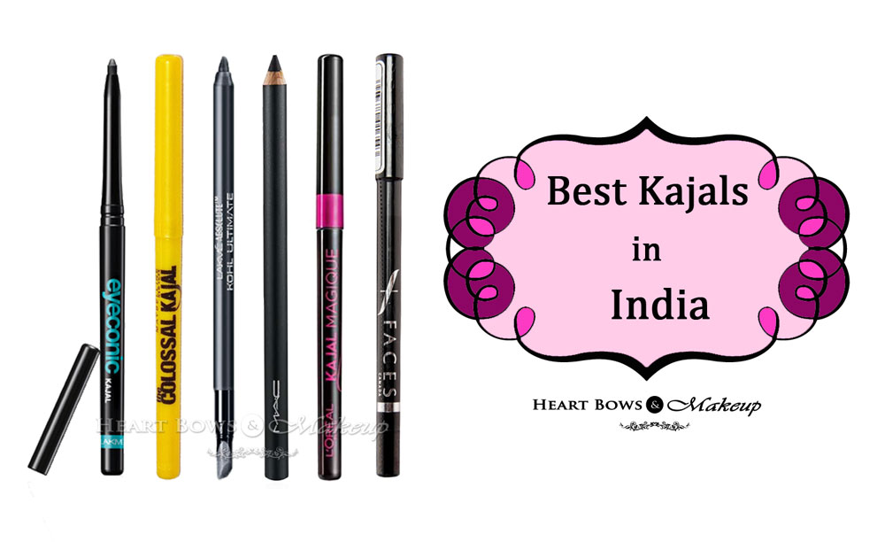 Best Kajals in India- Affordable & Smudge-Proof feat Maybelline, Lakme, L'Oreal, Faces & MAC!