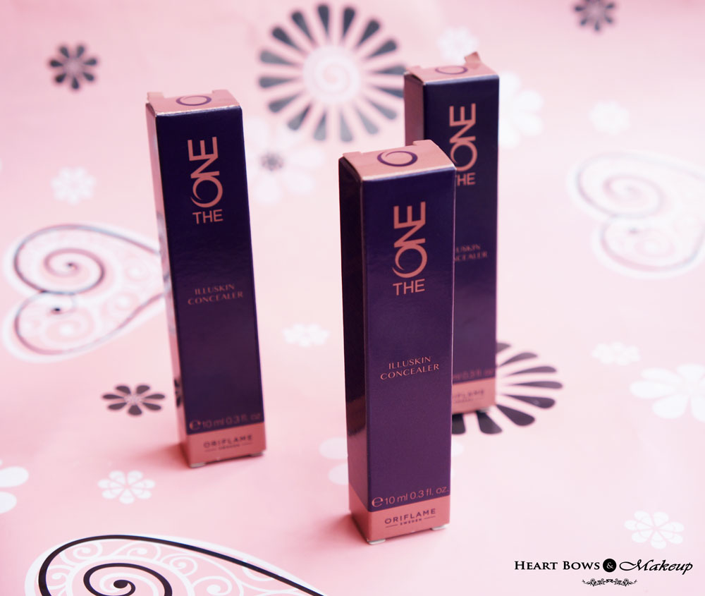 Concealer Oriflame The One Review, Shades & Swatches