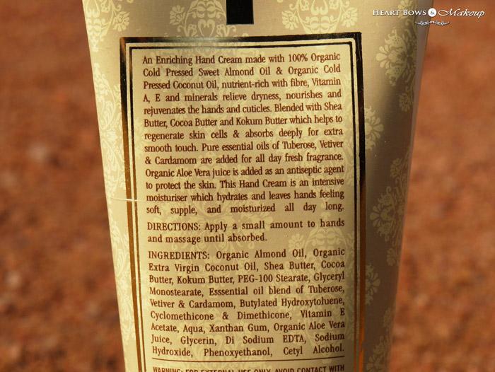 Kama Ayurveda Hand Cream Ingredients & Review: Best Hand Cream in India