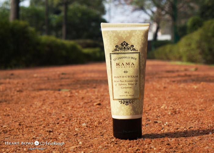 Kama Ayurveda Hand Cream Review, Price & Buy Online India