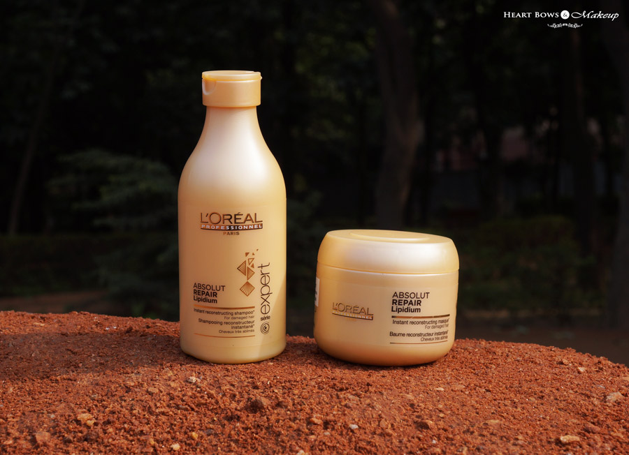 L'Oreal Professional Absolut Repair Lipidum Shampoo & Masque Review, Price & Buy Online India