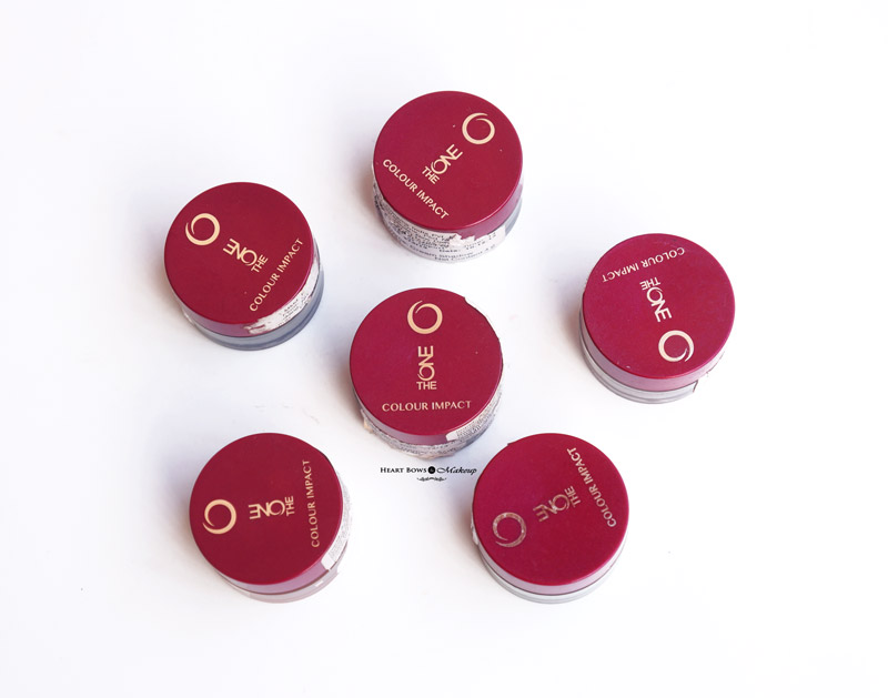Oriflame The ONE Colour Impact Eyeshadow Review, Swatches, Price & Buy Online India