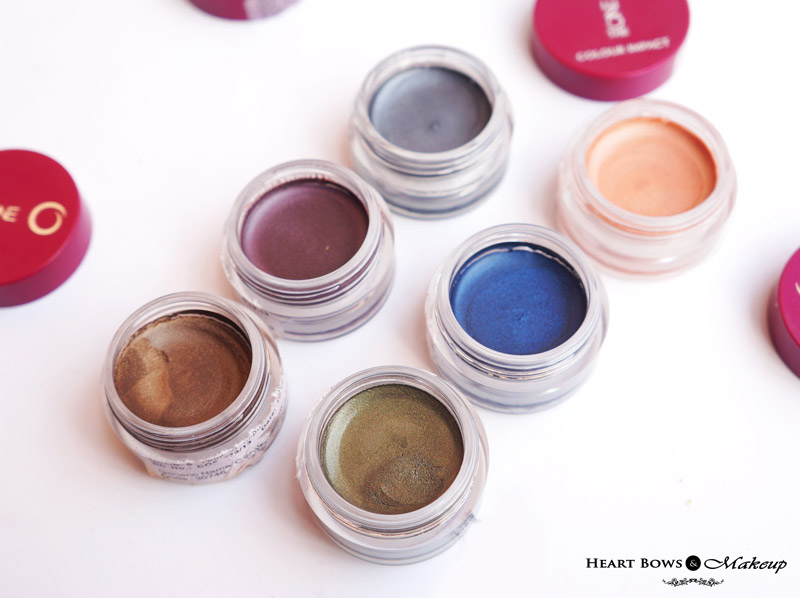 Oriflame The ONE Colour Impact Cream Eyeshadow Review, Swatches & Shades